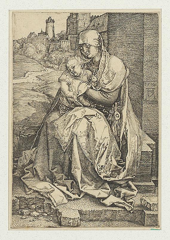 Albrecht Dürer - Panna Mária pri múre