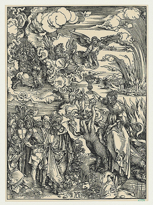 Albrecht Dürer - Babylónska záletníčka