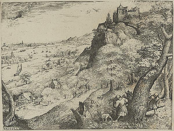 Pieter Brueghel st. – Poľovačka na kačice