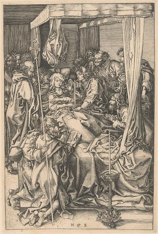 Martin Schongauer – Smrť Panny Márie