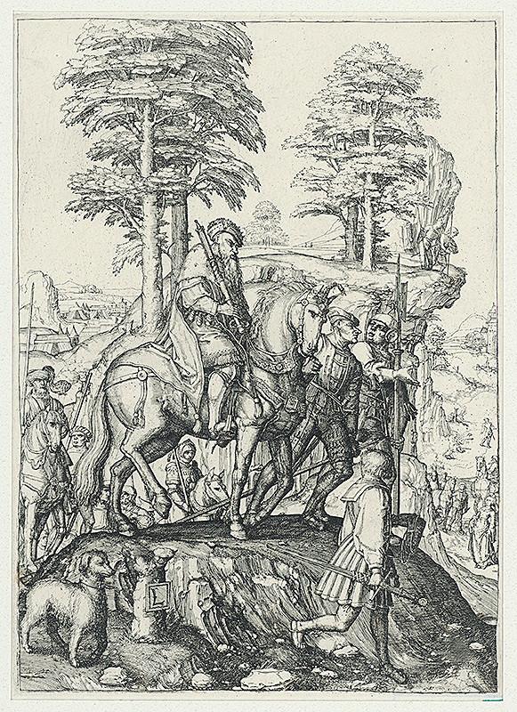 Lucas van Leyden – Jefteho dcéra prestupuje pred otca
