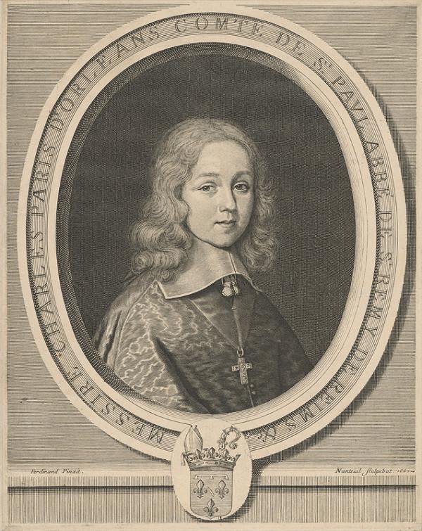 Robert Nanteuil, Robert Ferdinand – Portrét princa Charles-Paris d`Orléans-Longueville