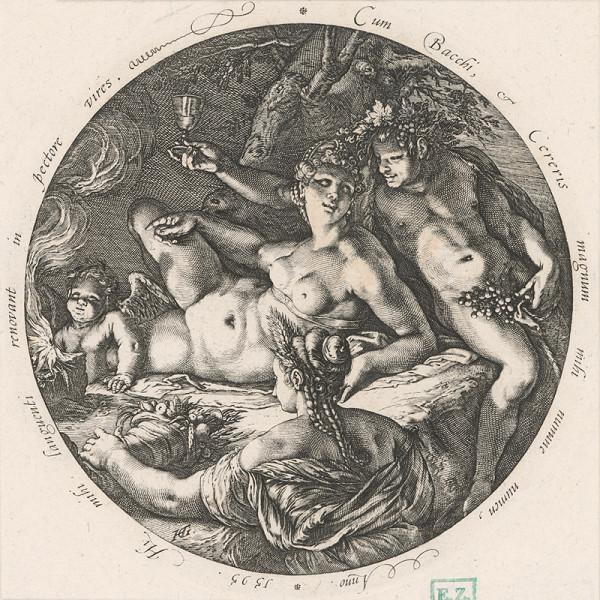 Hendrick Goltzius - Bacchus a Ceres