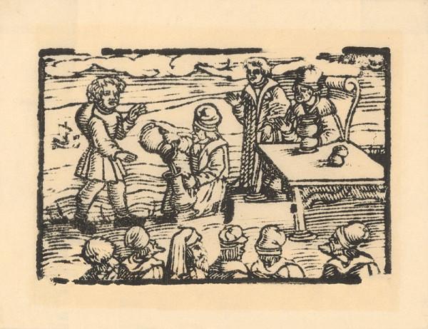 Profesionálny rezač štočkov, Hans Wolff Glaser, Wolfgang Strauch, Hans Weigel - Ako Xantus stavil, že vypije more