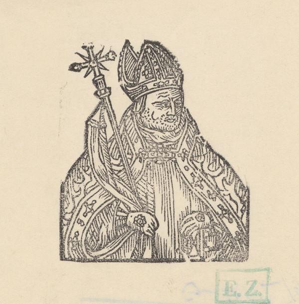 Stredoeurópsky grafik, Jan Willenberger – Fiktívny portrét Bosutu z Pernštejna ako hnezdenského arcibiskupa