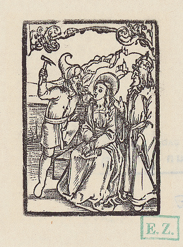 Albrecht Dürer – Svätá Apollónia, panna a mučenica