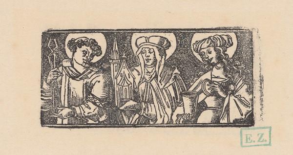 Erhard Schön – Svätý Baldomer subdiakon, Svätá Hedviga Sliezska a Svätá Mária Magdaléna