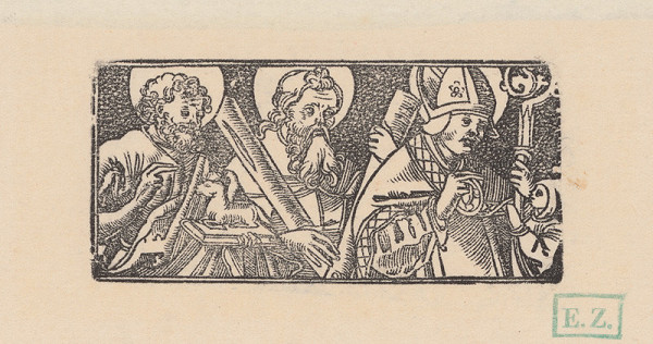 Erhard Schön - Svätý Ján Krstiteľ, Svätý Ondrej a Svätý Stanislav