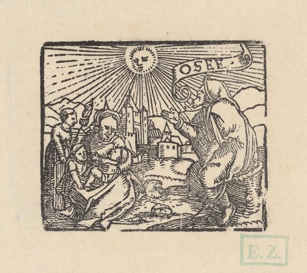 Anonymný ilustrátor Biblij Cžeskej – Prorok Ozeáš