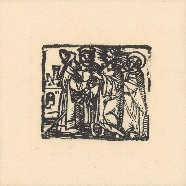 Kopista, Hans Sebald Beham - Kristus medzi zákonníkmi