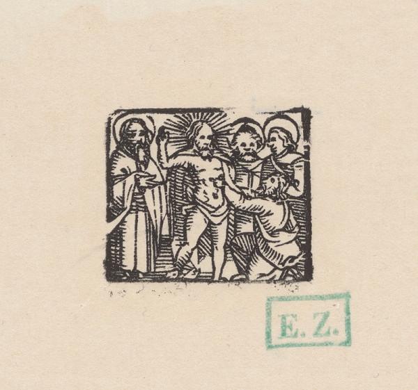 Kopista, Hans Sebald Beham – Kristus a neveriaci Tomáš apoštol