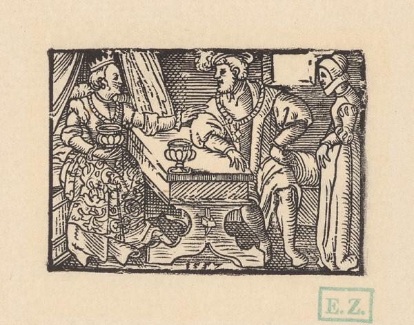 Kopisti, Hans Brosamer - Andolsiov rozhovor s kráľovskou dcérou Agripinou