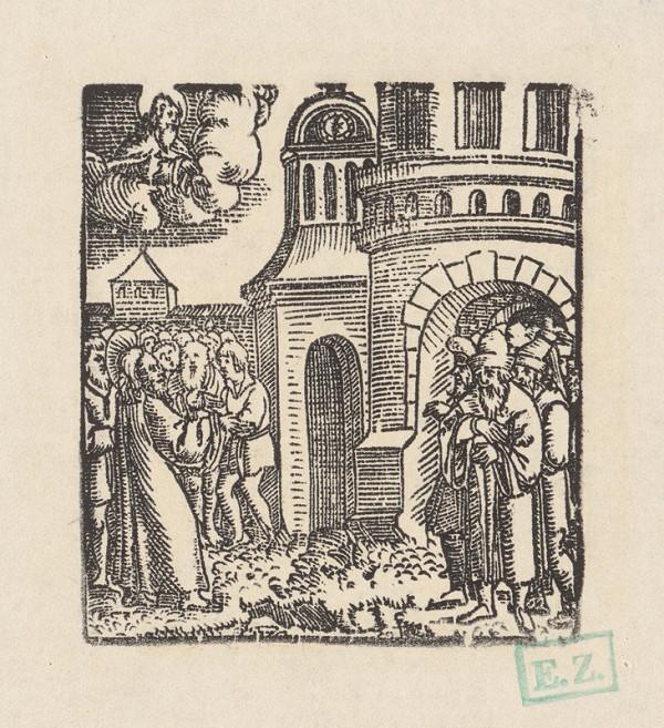 Grafik, Hans Springinklee, Erhard Schön – Kristus prikazuje milovať Boha a bližného