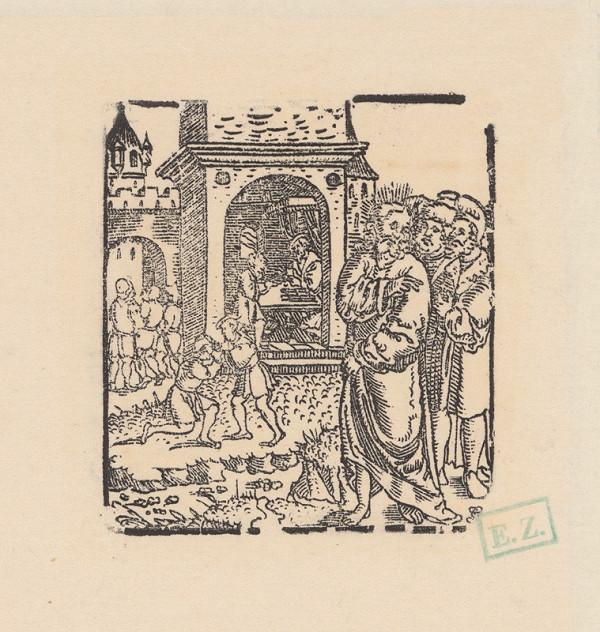 Grafik, Hans Springinklee, Erhard Schön – Podobenstvo o neľútostnom dlžníkovi