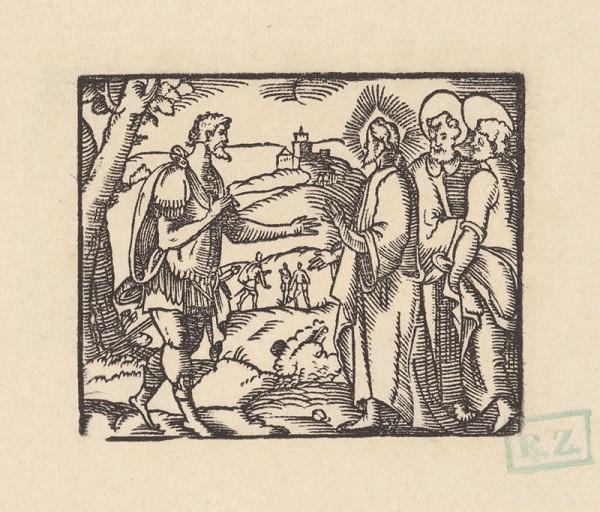 pravdepodobne českí kopisti Husovej Postylly z roku 1564 Stredoeurópski – Kristus a stotník