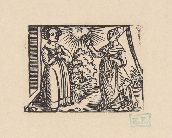 Erhard Schön – Dve dámy v krajine