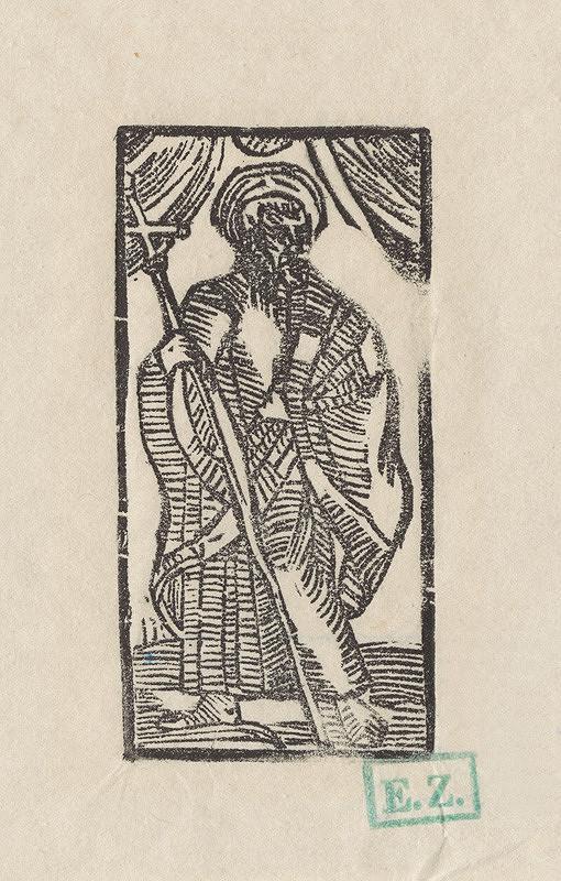 Provinčný grafik preberajúci ikonografický program, Erhard Schön, Hans Springinklee - Svätý Filip apoštol