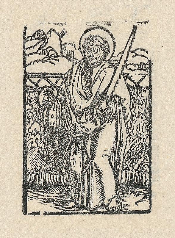 Albrecht Dürer - Svätý Šimon apoštol
