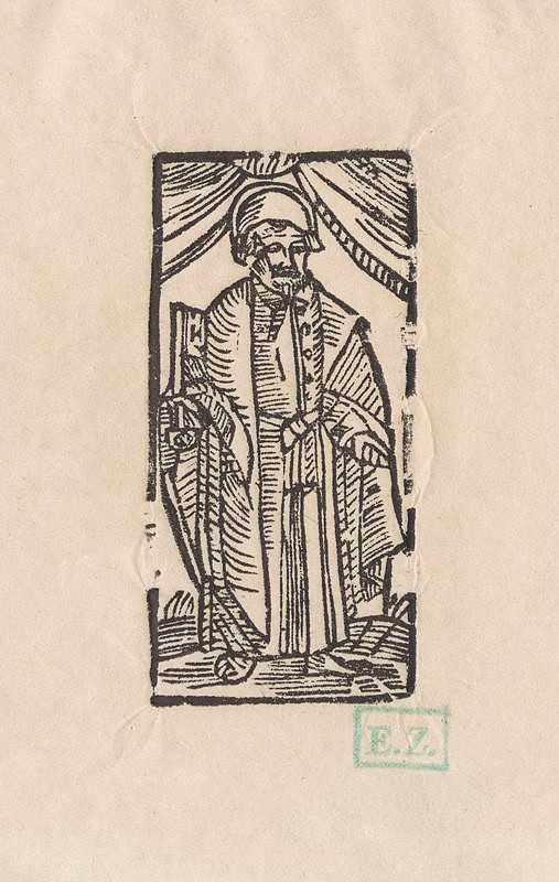 Provinčný grafik preberajúci ikonografický program, Erhard Schön, Hans Springinklee - Svätý Peter apoštol