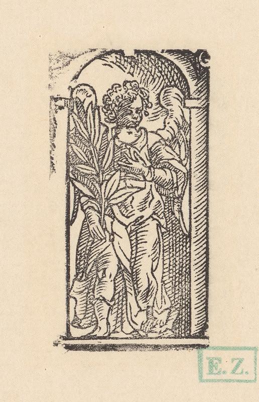 Ilustrátor zdôrazňujúci objem, Jan Willenberger, Virgil Solis ml. – Anjel s vavrínovou ratolesťou