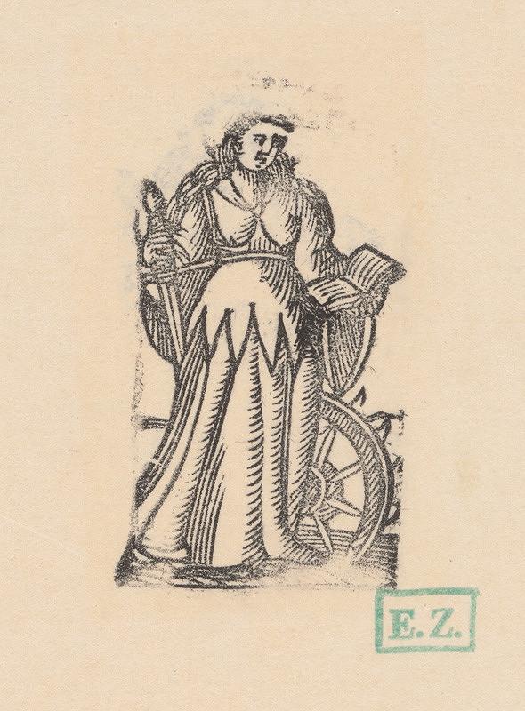 Remeselný grafik – Svätá Katarína Alexandrijská