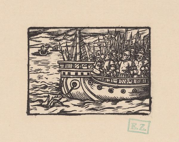 Kopisti, Hans Brosamer – Bruncvík sa s družinou plaví po mori