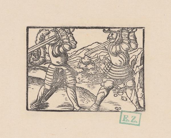 Kopisti, Hans Brosamer - Štilfríd bojuje so Žibridom Rôženým ?