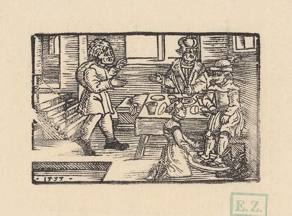 Profesionálny rezač štočkov, Hans Wolff Glaser, Wolfgang Strauch, Hans Weigel - Xantova žena umýva sedliakovi nohy