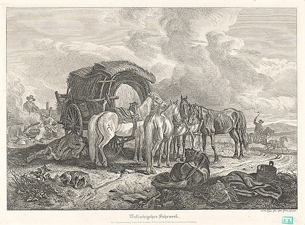 Johann Adam Klein – Valaský záprah