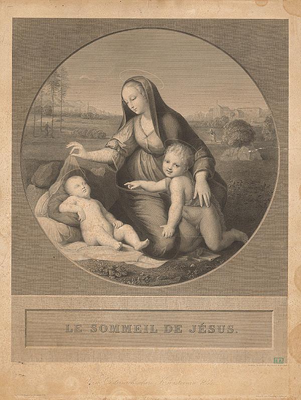 Achille Louis Martinet, Raffael – Ježišov spánok