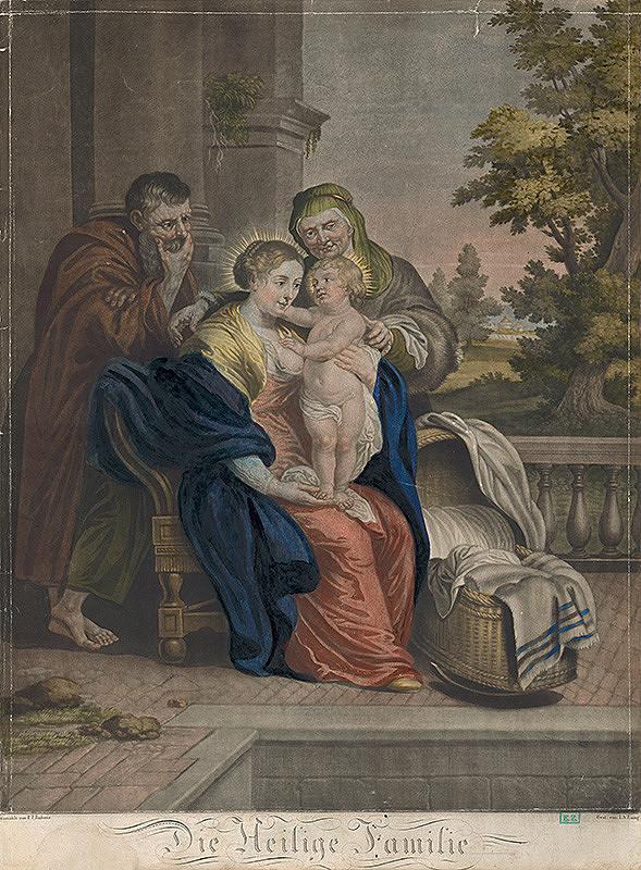 I. A. Lang, Peter Paul Rubens – Svätá rodina