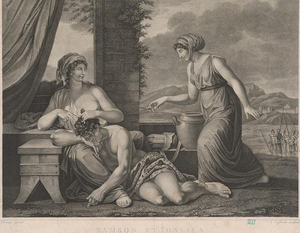 Angelo Zaffonato, Guercino – Samson a Dalila