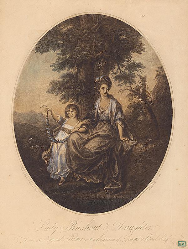 J. Burke, Angelica Kauffmann, Thomas Burke – Lady Rushout s dcérou