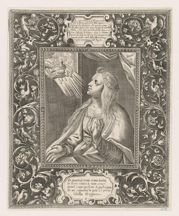 Giovanni Temini – Sibylla Frígijská