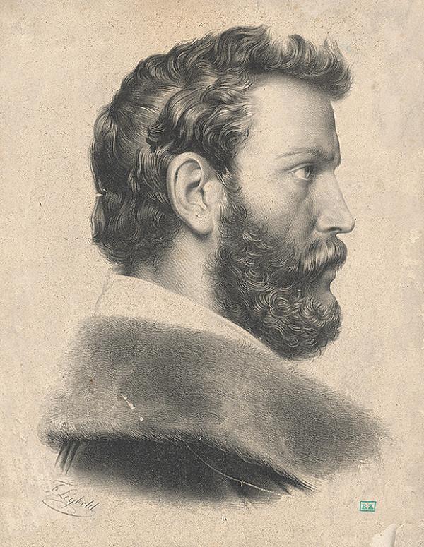 Johann Friedrich Leybold – Portrét mladého muža