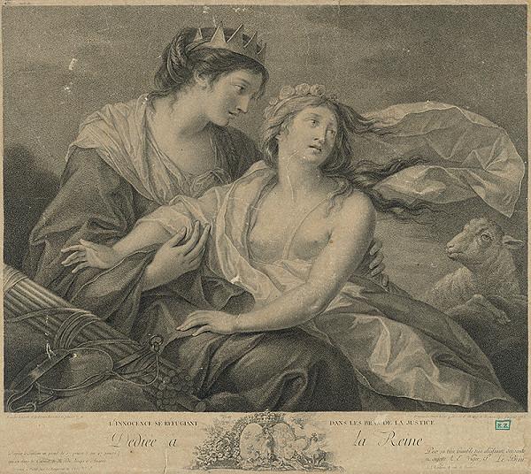 Louise Elisabeth Vigée-Le Brun, Francesco Bartolozzi – Nevinnosť utekajúca sa k Spravodlivosti