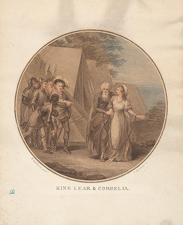 Francesco Bartolozzi, Angelica Kauffmann – Kráľ Lear a Cordelia