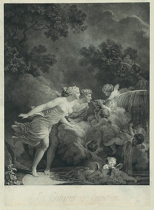 Nicolas François Regnault, Jean-Honoré Fragonard – Prameň lásky