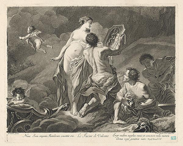 Pierre Mignard, Francesco del Pedro – Mytologická scéna