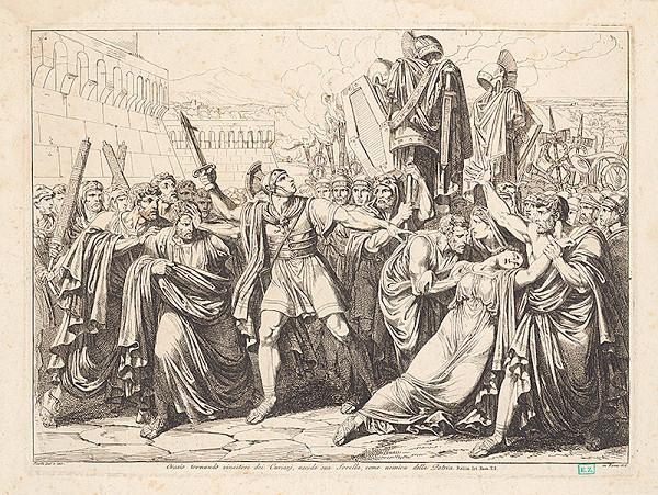 Bartolomeo Pinelli – Horacius po získaní majetku zabíja svoju sestru, ako nepriateľku vlasti ?