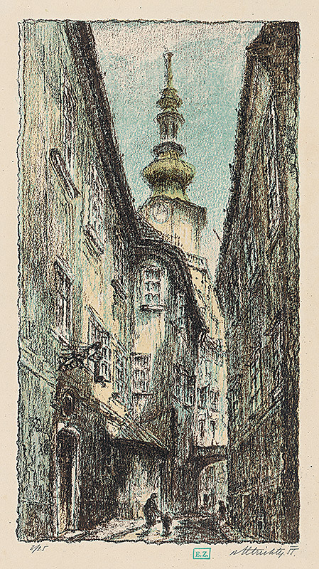 Rudolf Altrichter – Ulička I.