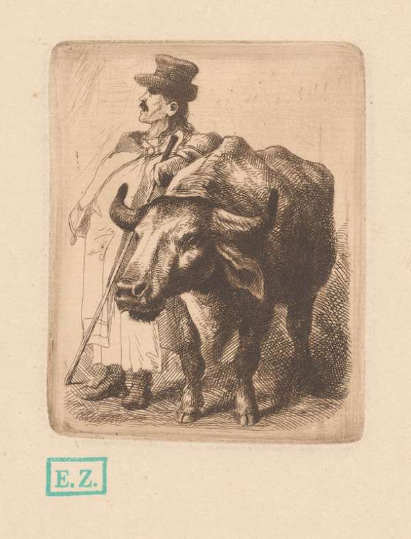 Mihály Szemlér – Pastier s voľom