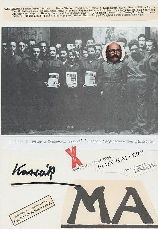Peter Rónai – Post Kassák Post