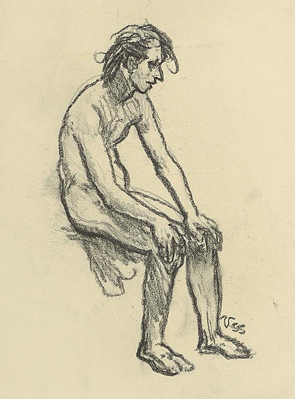 Jaroslav Vodrážka – Sediaci muž