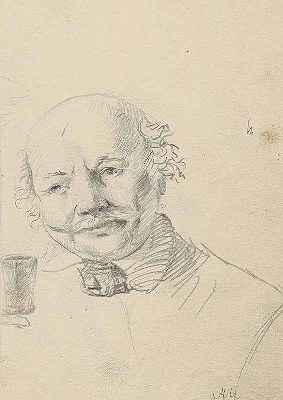 Vojtech Klimkovič – Portrét starého muža