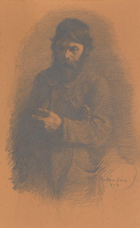 Gejza Kukán – Portrét starca