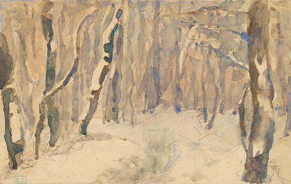 Ágnes Alexander - Zimný les