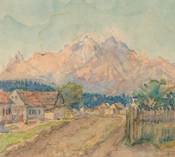 Ágnes Alexander - Krajina pod horami