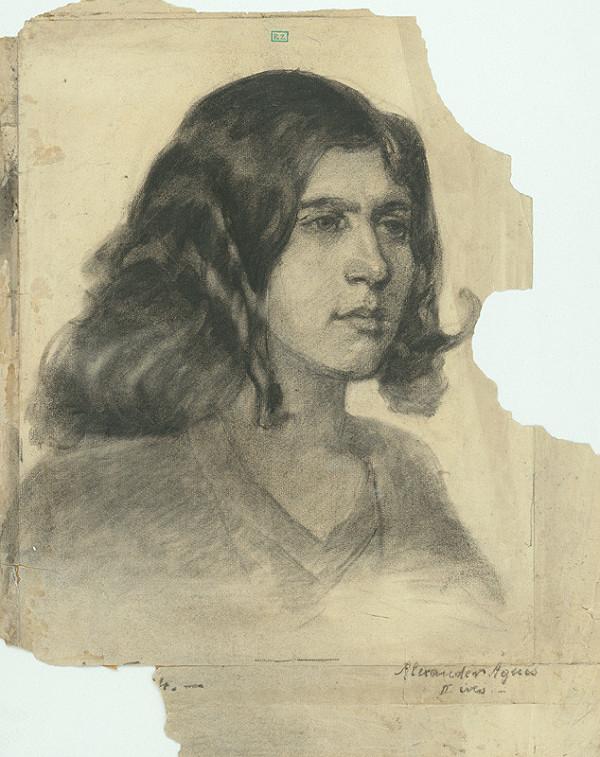 Ágnes Alexander - Portrét dievčaťa