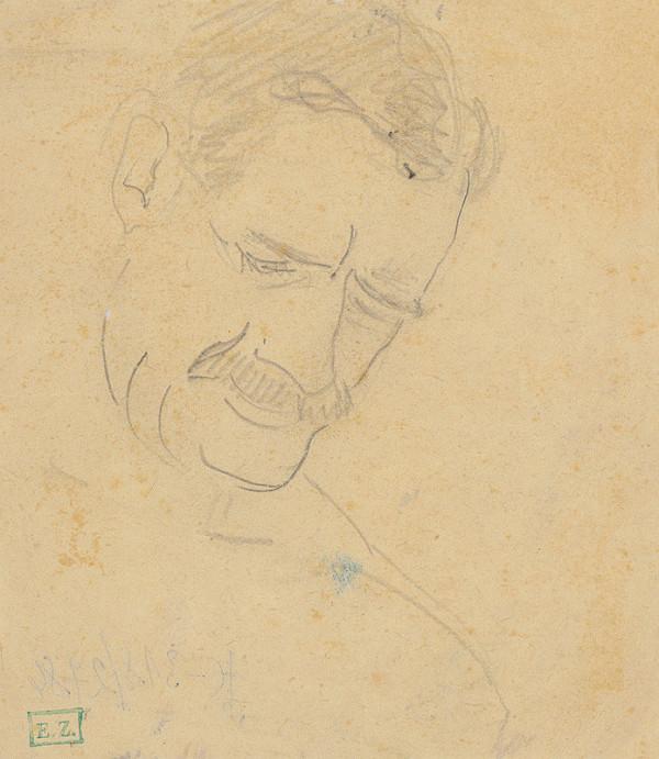Stredoeurópsky maliar z 1. polovice 20. storočia - Portrét muža